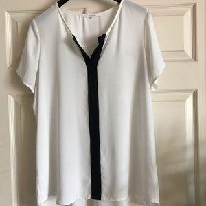 Pleione Nordstrom Off White/cream blouse.
